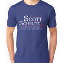 Scott Schrute for President Unisex T-Shirt