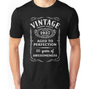 Vintage Limited 1937 Edition - 80th Birthday Gift Unisex T-Shirt