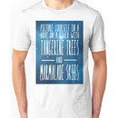 The Beatles -  Lucy in the Sky With Diamonds - Lyric Poster Unisex T-Shirt