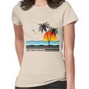 Life's Better at the Beach Women's T-Shirt