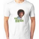 Bob Ross No Mistake Just Happy Little Trees Painter Design Unisex T-Shirt