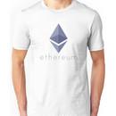 Ethereum Logo (with Text) Unisex T-Shirt
