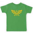 Triskele Triforce - Crest of Hyrule - Legend of Zelda Kids Clothes