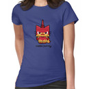Hello (Angry) Unikitty Women's T-Shirt