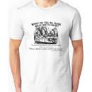 Alice in Wonderland Quote. Unisex T-Shirt