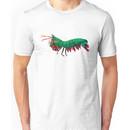 Geometric Abstract Peacock Mantis Shrimp Unisex T-Shirt