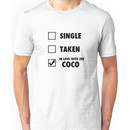 I'm in love with the coco Unisex T-Shirt