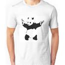 Panda Print Banksy Unisex T-Shirt