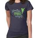 Leave a Little Sparkle Wherever You Go Women's T-Shirt