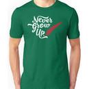 Peter Pan - Never Grow Up. Unisex T-Shirt