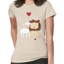 The lion and the lamb Women's T-Shirt