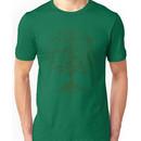 Guitars Tree Roots ~ Green Unisex T-Shirt