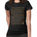 Shakespeare Insults Dark - Revised Edition (by incognita) Women's T-Shirt