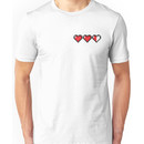 8Bit Heart - Legend of Zelda Unisex T-Shirt