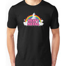 HEAVY METAL! (Funny Unicorn / Rainbow Mosh Parody Design) Unisex T-Shirt