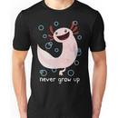 Axolotl Never Grow Up Unisex T-Shirt