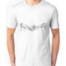 mummy handshake Unisex T-Shirt