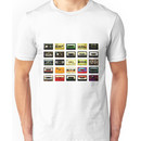 mixed up mix tapes Unisex T-Shirt