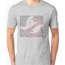 Ghostbusters Quote Logo Unisex T-Shirt