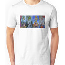 Muppets Haunted Mansion Stretching Room Portraits Unisex T-Shirt