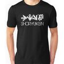Shoryuken Command White Unisex T-Shirt