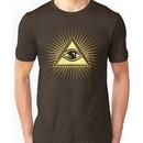 Eye Of Providence - All Seeing Eye Of God - Symbol Omniscience Unisex T-Shirt