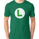Super Mario Luigi Icon Unisex T-Shirt