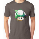 Watercolor 1-Up Mushroom Unisex T-Shirt