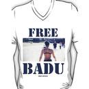 FREE BADU free speech V-Neck