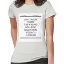 BTS Hangul Time! Women's T-Shirt