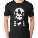 Majoras Mask White Silhouette Unisex T-Shirt