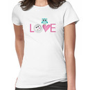 Love Owl with charm Women's T-Shirt
