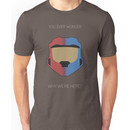 Red vs Blue Poster Unisex T-Shirt