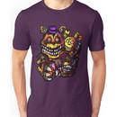 Five Nights at Freddy's Golden Fredbear, Freddy, Plushtrap Unisex T-Shirt