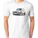 VW Golf (Mk1) GTi White Unisex T-Shirt