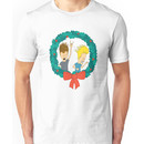beavis and butthead christmas Unisex T-Shirt