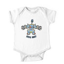 Baby Buzz'head Blue Kids Clothes
