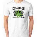 Colorado Marijuana Cannabis Weed T-Shirt Unisex T-Shirt