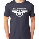 """""""On Your Left Running Club"""" Distressed Print 2 Unisex T-Shirt"""