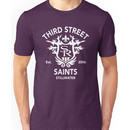 Saints Row 3 Tribute Distressed White Unisex T-Shirt