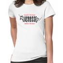 """Lacrosse """"Trample The Weak Hurdle The Dead"""" Women's T-Shirt"""