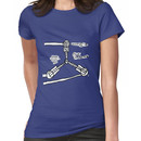 The TIME FLUX CAPACITOR!! Women's T-Shirt