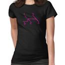 VW Gear Shift Kombi - pink text Women's T-Shirt
