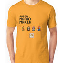 Mario Generations - Super Mario Maker Unisex T-Shirt