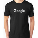 New White Google Logo (September 2015) - Clear, High-Quality, Large Unisex T-Shirt