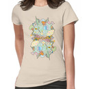 Puffer Puffing On A Water Pipe Women's T-Shirt