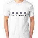 They See Me Rollin' Black Moon Emoji Trendy/Hipster/Tumblr Meme Unisex T-Shirt