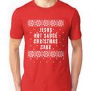 Jesus Hot Sauce Christmas Cake Unisex T-Shirt