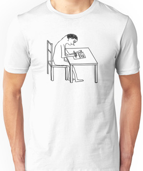 David Shrigley 'I AM VERY HAPPY' Shirt Unisex T-Shirt