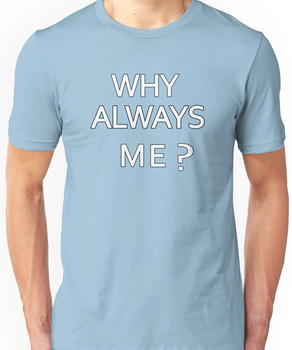 Why Always Me? Mario Balotelli - Manchester City Routs United 6-1 Unisex T-Shirt